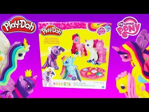 My Little Pony Make N' Style Ponies Playdoh Playset