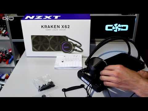 Распаковка NZXT Kraken X62