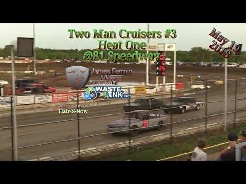 Two Man Cruisers #3, Heat, 81 Speedway, 2018