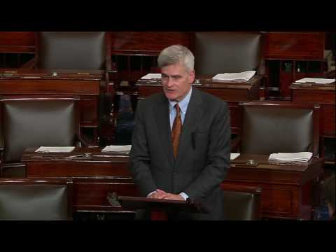After Rep. Steve Scalise was shot, Sen. Bill Cassidy spoke about him on the Senate floor