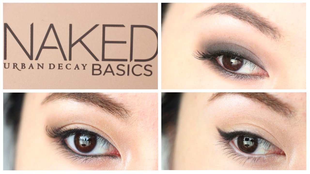 Fabuleux 3 Eye Looks in 1 : NAKED Basics Palette Tutorial - YouTube UX57