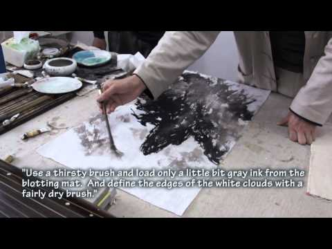 Huangshan a Joint Painting Demo with Zhu Yanmo and Henry Li(DVD trailer)