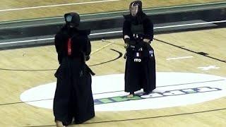 Kendo Europameisterschaft 2017 - Finale Männer - Ito (FRA) vs Fritz (CZE)