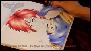 Super Smash Bros./Fire Emblem - Roy Speed Drawing
