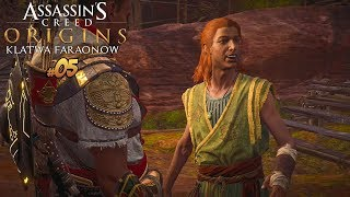 RUDY BANDYTA?! Assassin's Creed Origins: The Curse of the Pharaohs DLC #5 | Vertez