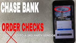✅  Chase Bank How To Order Replacement Checks ?