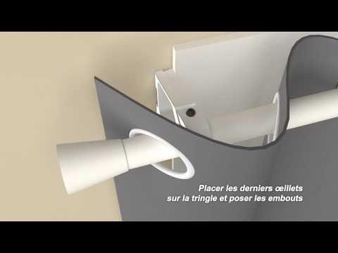 Ridorail IB Support De Tringle Rideaux Pour CAISSO