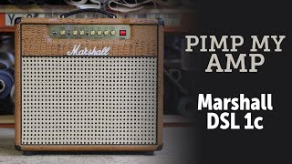 Marshall DSL1cr combo conversion by Zilla Cabs
