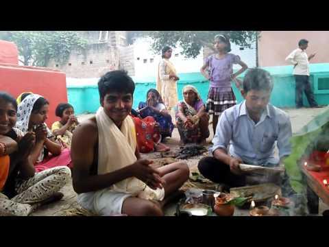 Dehati shadi Pooja Bihar part 4 2015