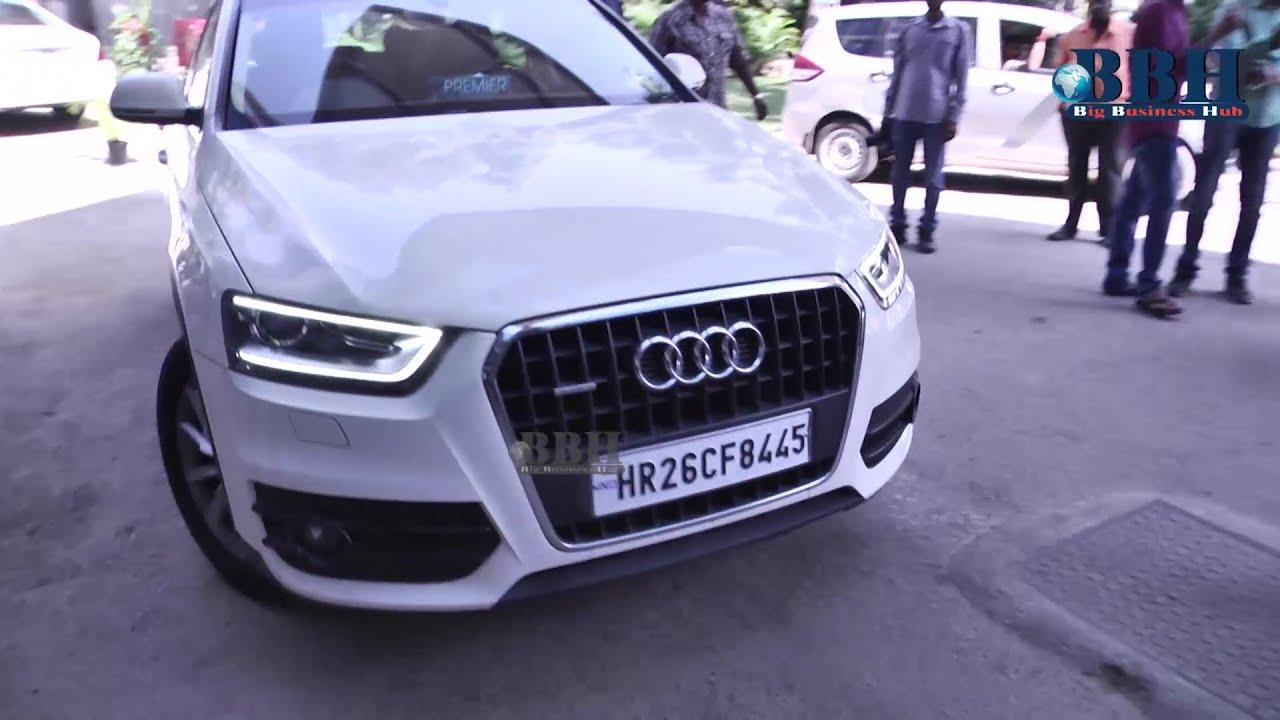 Rakul Preet Singh Car Number HR CF YouTube - Audi car number
