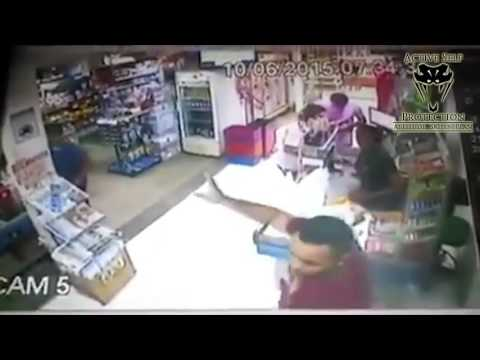 Armed Robbery Ended by Armed Victim