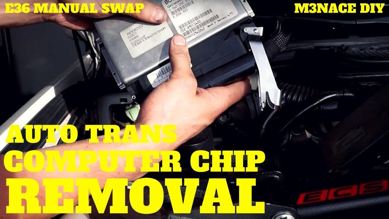 e36 auto e prom chip removal the computer aspect e36 manual swap rh youtube com Engine Cradle DIY Biosphere Closed DIY