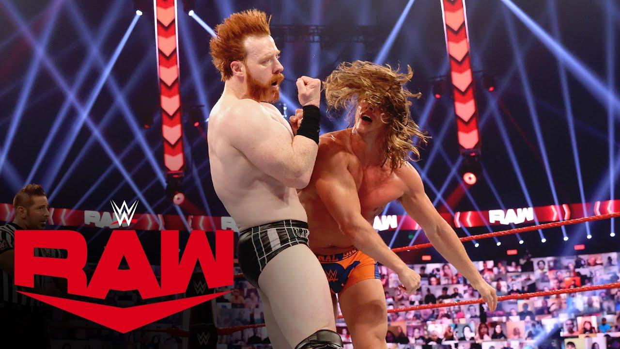 Riddle vs. Sheamus – Winner Advances to Triple Threat Match: Raw, Nov. 23, 2020