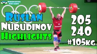 Ruslan Nurudinov (UZB, 105KG) | Olympic Weightlifting Training | Highlights