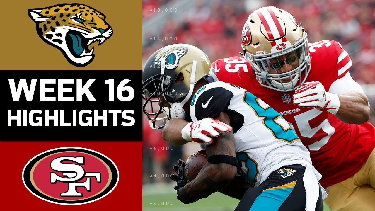 Jaguars Vs 49ers Nfl Week 16 Game Highlights Youtube