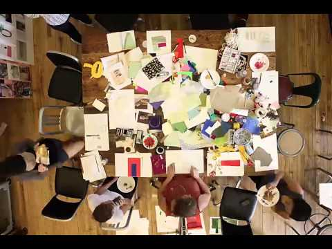 Time-lapse video of a day spent crafting with | Anthropologie