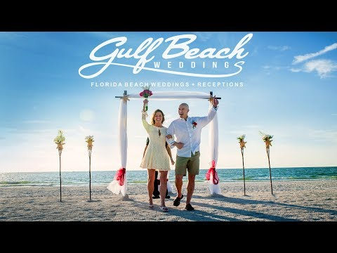 St Pete Beach Destination Wedding by Gulf Beach Weddings:  Video Testimonial