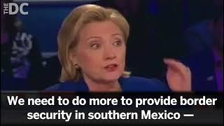 Hillary Clinton Advocates For A Sending Illegal Immigrants Home... In 2014