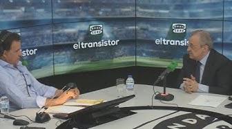 VÍDEO Entrevista completa de José Ramón de La Morena a Florentino Pérez en El Transistor