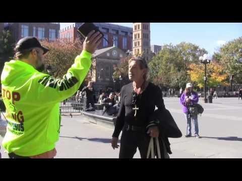 Washington Park, NY | New York University | Open Air Preaching | Kerrigan Skelly