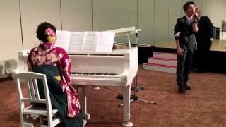 卒業式 「さくら」 小駒海斗 Piano.石渡愛