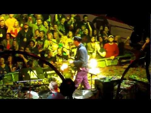 Coldplay - Yellow - Scotiabank Saddledome, Calgary April-18, 2012