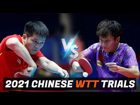Download Fan Zhendong vs Lin Gaoyuan | 2021 Chinese WTT Trials and Olympic Simulation (1/4)