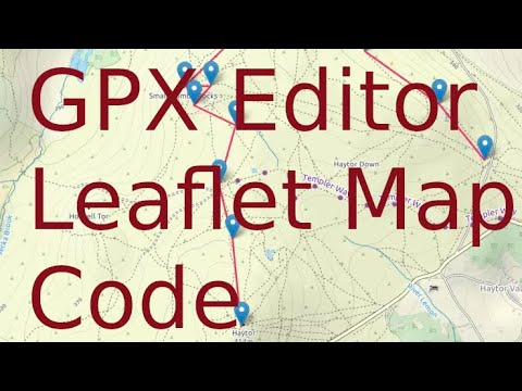 Tutorial: How to make leaflet map polylines editable by user - YouTube