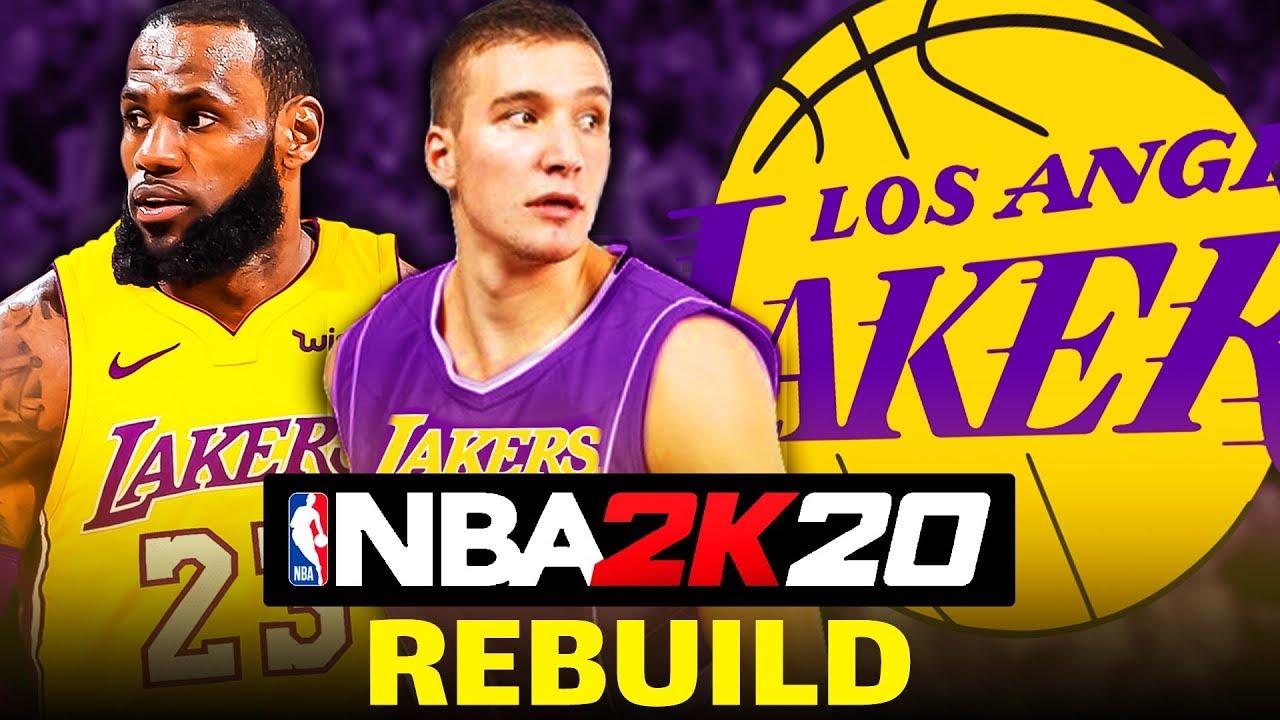 NBA 2K20 LAKERS REBUILD // TANIDIK İSİMLER GETİRDİK // NBA 2K20 TÜRKÇE