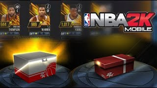 2k18 Mobile Large Loot Crate & Small Loot Crate Opening - Upgrading my Squad