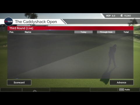 3rd rd at the caddyshack open tgc tour Q School event