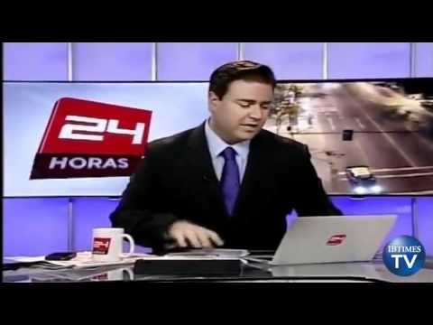 Chile Earthquake Caught On Camera During Live Broadcast