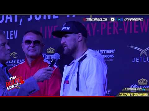 SERGEY KOVALEV makes his GRAND ARRIVAL, PROMISES WARD camp he will PUNISH ANDRE WARD