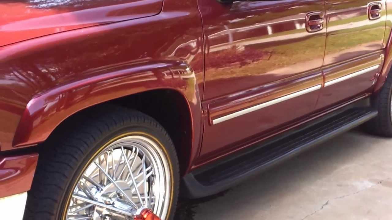 2003 Chevrolet Tahoe >> Suburban on swangas - YouTube