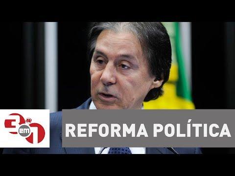 Presidente Do Senado, Eunício Oliveira, Vê Tempo Hábil Para Votar Reforma Política Para 2018