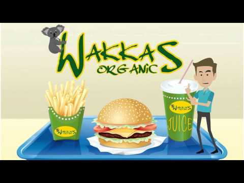 Wakkas Organics: the new Australian Organic Fast Food Concept