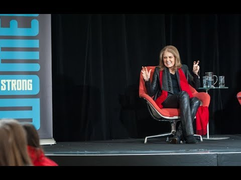 Highlights from our Gloria Steinem: Women Strong Student Assembly at Branksome Hall