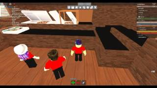 ROBLOX Work At a Pizza Place Being PIZZA BOXER! Part 1