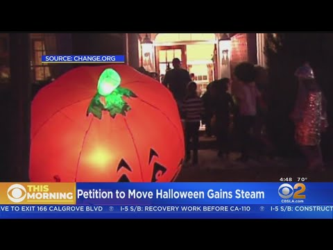 Dreena Gonzalez - Petition to Move Halloween to Last Saturday of October Is Making Progress!