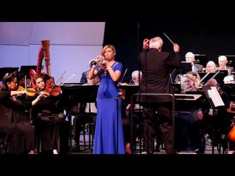 Mary Elizabeth Bowden: Enesco Légende with the Peninsula Symphony