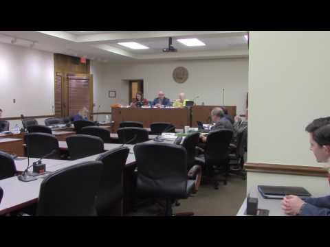 Arkansas Senator Jeremy Hutchinson (Senate District 33) mishandles Judiciary Committee