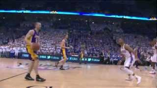 Oklahoma City Thunder Thriller comeback in the last 2 minutes (9-0) vs Lakers GM2 NBA Playoffs 2012