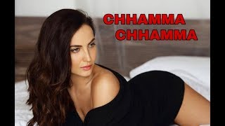 Chhamma chhamma new version song - Fraud Saiyaan। Ellie AvrRam Hot Dance। Neha Kakkar Voice