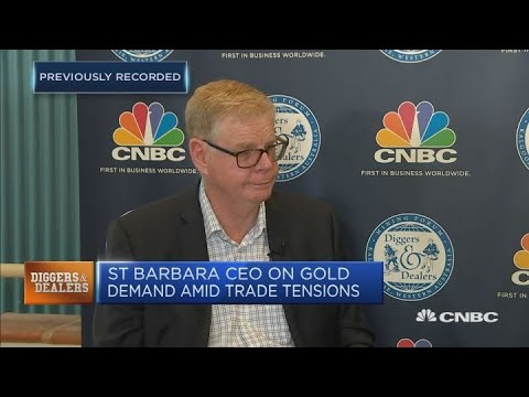 Discussing The Impact Of The Trade War On Gold Prices | Street Signs Asia