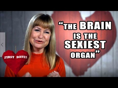 """""""The Brain Is The Sexiest Organ"""" Sian Lloyd Meets Her Date   Celebrity First Dates"""