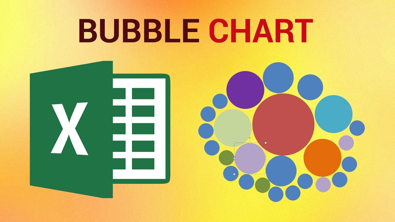 How To Make A Bubble Chart In Excel 2016