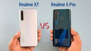Realme XT Vs Realme 5 Pro SpeedTest And Camera Comparison