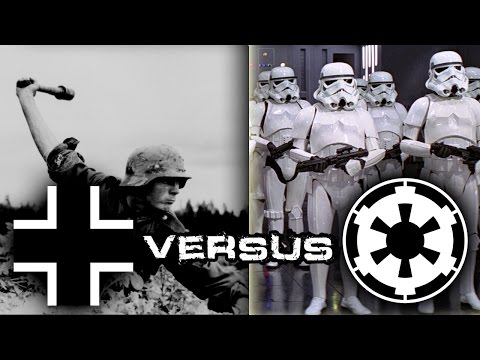 Nazi Germany vs Galactic Empire (WW2 vs. Star Wars - Men of War: Assault Squad 2)