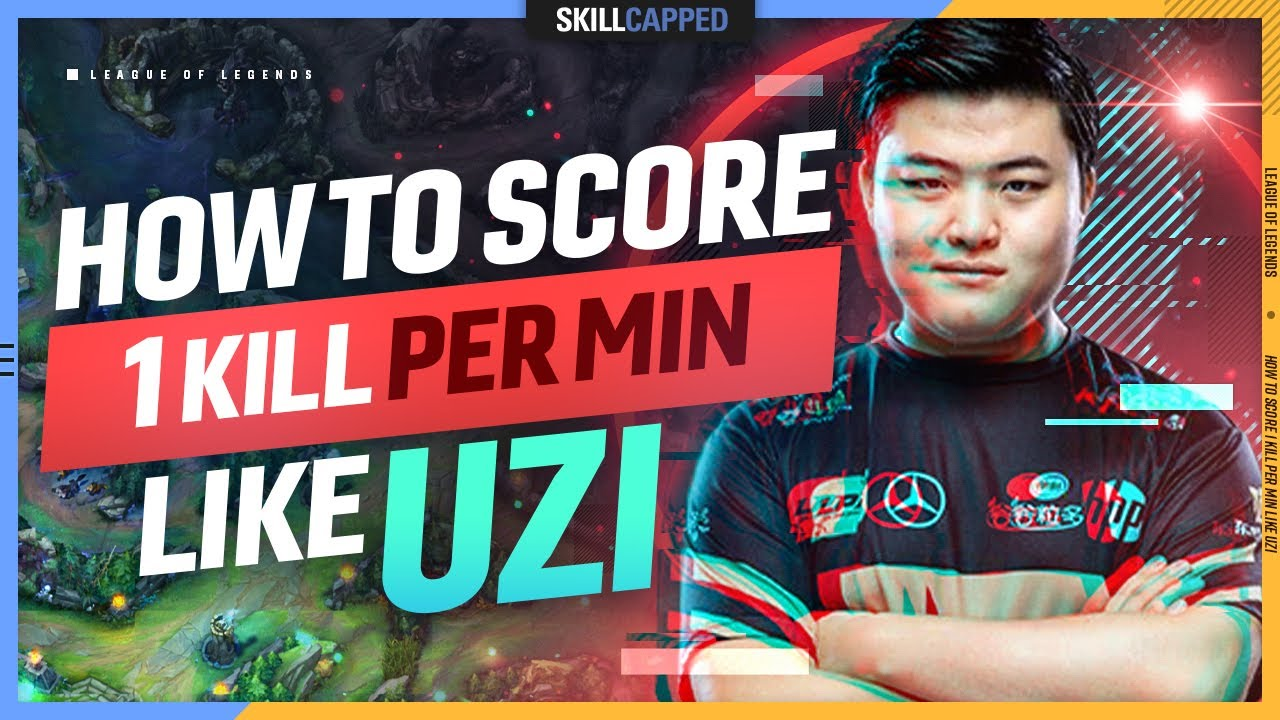 Download How UZI gets 1 KILL per MINUTE as an ADC - League of Legends Guide