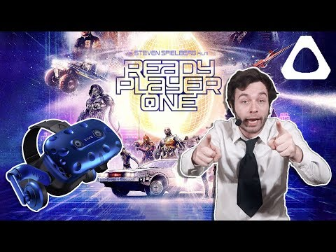 Enter The Oasis Today | Ready Player One VR | Vive Pro